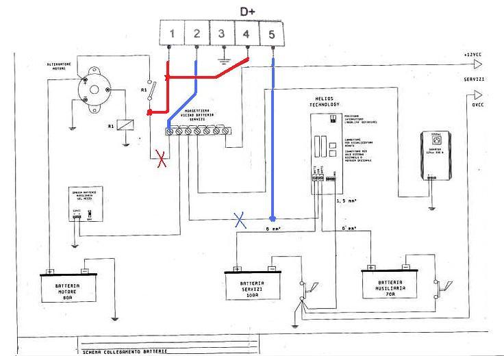 Schema Elettrico Nds Power Service : Installazione power service pagina i forum di